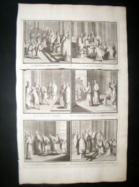 Picart C1730 Folio Antique Print. Religious Catholic 47